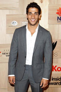 Firass Dirani at the 2010 Inside Film Awards in Sydney.