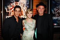 Firass Dirani, Clare Bowen and Director David Field at the premiere of