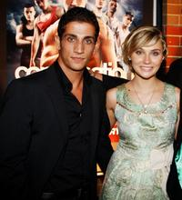 Firass Dirani and Clare Bowen at the premiere of