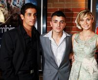 Firass Dirani, Rahel Abdul Rahman and Clare Bowen at the premiere of