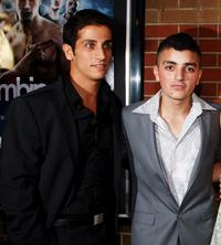 Firass Dirani and Rahel Abdul Rahman at the premiere of