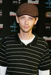 D.J. Qualls at the Stuff Magazines fourth annual Stuff Casino Weekend.