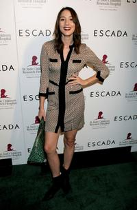 Bree Turner at the launch of the Escada 2006 Spring/Summer collection to benefit St. Jude Children's Research Hospital.