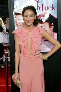 Bree Turner at the premiere of