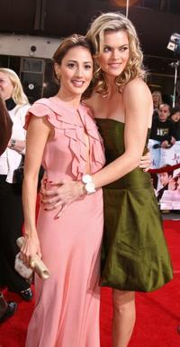 Bree Turner and Missi Pyle at the premiere of