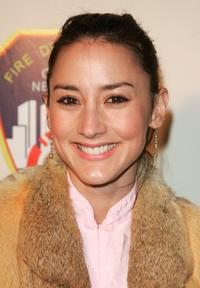 Bree Turner at the unveiling of the new convertible Mazda MX-5.
