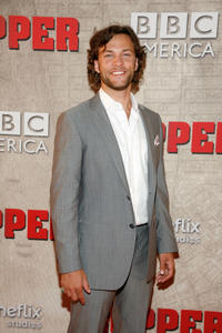 Kyle Schmid at the New York premiere of