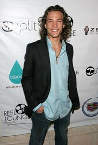 Kyle Schmid at the REEL Lounge presents The Benderspink Oscar Party.