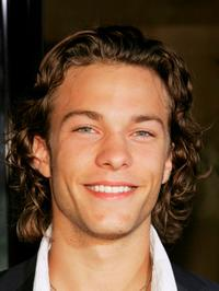 Kyle Schmid at the premiere of