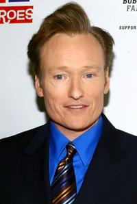 Conan O Brien at the Stand Up For Heroes: A Benefit For The Bob Woodruff Family Fund.