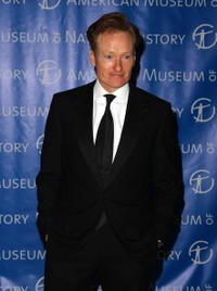 Conan O'Brien at the 2008 Museum Gala.