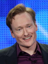 Conan O'Brien at the 2009 Winter TCA Tour.