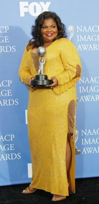 Mo'nique at the 35th Annual NAACP Image Awards.