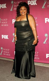 Mo'nique at the 36th NAACP Image Awards.