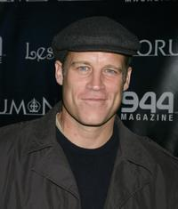 Mark Valley at the Matt Sorums' launch of his Sorum-Noce Couture Clothing line.