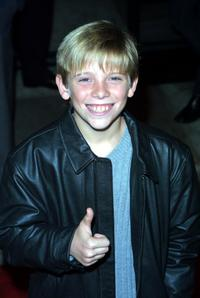 Scotty Leavenworth at the premiere of