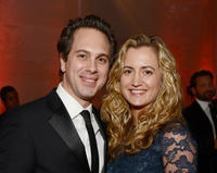 Tom Sadoski and Kimberly Hope at the Art Of Elysium's 6th Annual Black-tie Gala