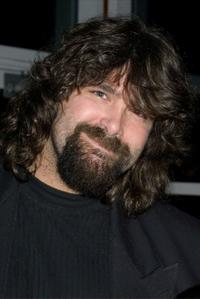 Mick Foley at the Muscular Dystrophy Association's 2002 Muscle Team gala and auction.