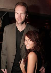 Tyler Mane and Scout Taylor-Compton at the afterparty premiere of