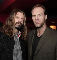 Rob Zombie and Tyler Mane at the after party premiere of