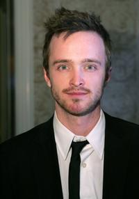 Aaron Paul at the Mercedes-Benz Oscar viewing party.
