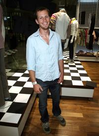 Kip Pardue at the launch party as Ben Sherman celebrates the opening of second U.S. store.