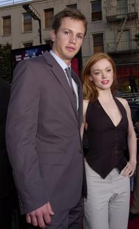 Kip Pardue and Rose McGowan at the premiere of