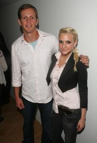 Kip Pardue and Ashlee Simpson at the MTV's Total Request Live.