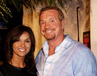 Kimberly and her husband Diamond Dallas Page at the DVD release party of