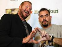 Diamond Dallas Page and Noel G. at the premiere of
