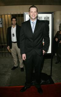 Dave Power at the after party of the California premiere of