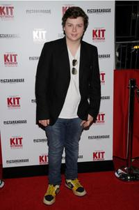 Spencer Breslin at the premiere of