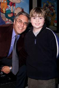 Albie Hecht and Spencer Breslin at the special screening of