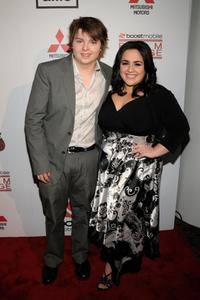 Spencer Breslin and Nikki Blonsky at the premiere of