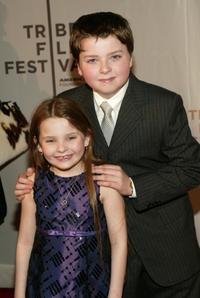 Spencer Breslin and Abigail Breslin at the screening of
