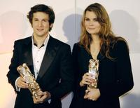 Guillaume Canet and Marina Hands at the 32nd Nuit des Cesar ceremony, France's top movie awards.