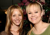 Lisa Kudrow and Caroline Rhea at the Cracked Xmas 8 benefiting the Trevor Project.