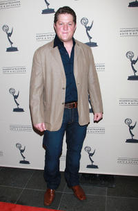 Derk Cheetwood at the 2011 Daytime Emmy Awards nominees cocktail reception.