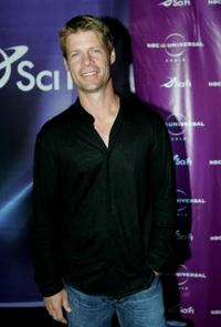 Joel Gretsch at the Sci-Fi Channel talent party.