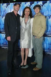 Klaus Menzel, Jacqueline Bisset and Adam Garcia at the German premiere of