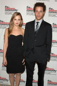 Rachael Leigh Cook and Paulo Costanzo at the Tribute to the Human Spirit Awards Gala.