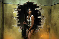 Zoe Saldana as Cataleya Restrepo in ``Colombiana.''