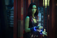 Zoe Saldana as Gamora in