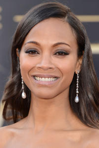 Zoe Saldana at the 85th Annual Academy Awards in Hollywood.