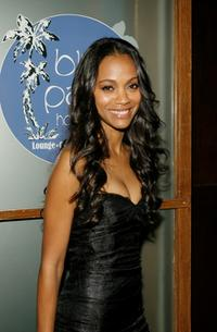Zoe Saldana at the 7th Annual Breakthrough of the Year Awards.
