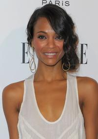 Zoe Saldana at the 16th Annual ELLE Women in Hollywood Tribute.
