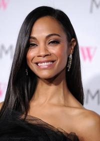 Zoe Saldana at the MOCA New 30th Anniversary Gala.