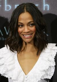 Zoe Saldana at the photocall of