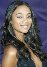 Zoe Saldana at the 2005 Black Movie Awards.