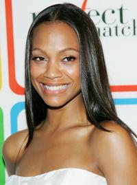 Zoe Saldana at the Entertainment Weekly's